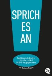 Sprich es an! Cover