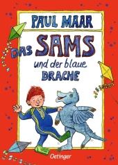 Das Sams und der blaue Drache Cover