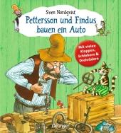 Pettersson und Findus bauen ein Auto Cover