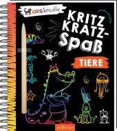 Kritzkratz-Spaß Tiere, m. Sift