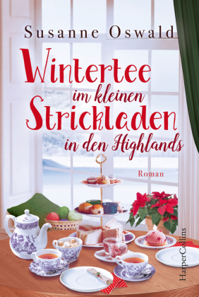 Wintertee im kleinen Strickladen in den Highlands