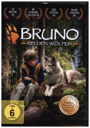 Bruno bei den Wölfen, 1 DVD