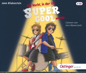Die Nacht, in der ich supercool wurde, 3 Audio-CD