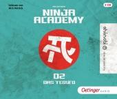 Ninja Academy - Die Prüfung, 3 Audio-CD Cover