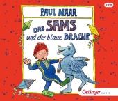 Das Sams und der blaue Drache, 3 Audio-CD Cover