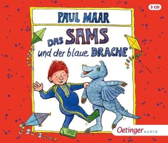 Das Sams 10. Das Sams und der blaue Drache, 3 Audio-CD