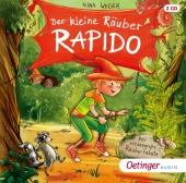 Der kleine Räuber Rapido - Der riesengroße Räuberrabatz, 2 Audio-CD Cover