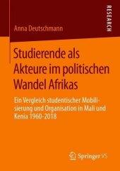 Studierende als Akteure im politischen Wandel Afrikas