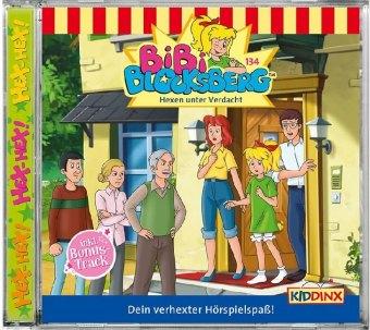 Bibi Blocksberg - Hexen unter Verdacht, 1 Audio-CD