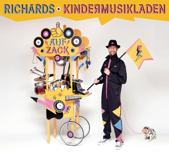 Richards Kindermusikladen, 1 Audio-CD, Band 2
