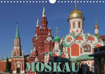 Moskau (Wandkalender 2021 DIN A4 quer)