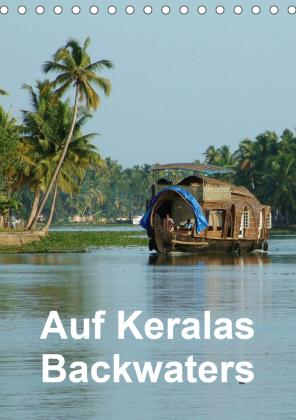 Auf Keralas Backwaters (Tischkalender 2021 DIN A5 hoch)