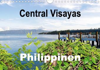 Central Visayas - Philippinen (Wandkalender 2021 DIN A4 quer)