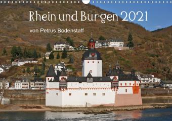 Rhein und Burgen (Wandkalender 2021 DIN A3 quer)