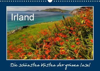 IRLAND - die schönsten Küsten (Wandkalender 2021 DIN A3 quer)