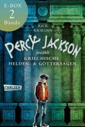 Percy Jackson erzählt: Beide Bände der Bestseller-Serie in einer E-Box!