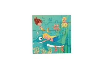 Magnetpuzzle Meerjungfrau
