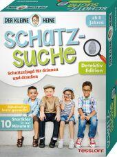 Der kleine Heine. Schatzsuche. Detektiv Edition. Schnitzeljagd für drinnen und draußen