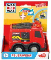 WAS IST WAS Dickie Toys Feuerwehr. Set (Fahrzeug + Buch)