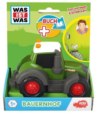 WAS IST WAS Dickie Toys Bauernhof. Set (Fahrzeug + Buch)