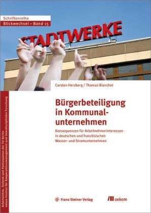 Bürgerbeteiligung in Kommunalunternehmen