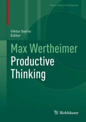Max Wertheimer Productive Thinking