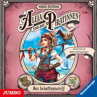 Aleja und die Piratinnen. Das Schattenschiff, 4 Audio-CD