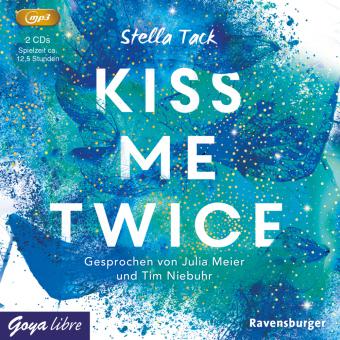 Kiss me twice, 2 Audio-CD, MP3