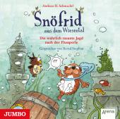 Snöfrid aus dem Wiesental. Die wahrlich rasante Jagd nach der Flussperle, Audio-CD Cover