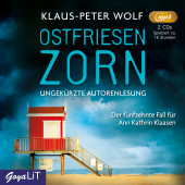 Ostfriesenzorn, 2 Audio-CD, Cover