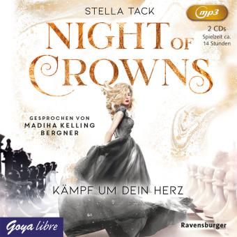 Night of Crowns. Kämpf um dein Herz, 2 Audio- CD, MP3