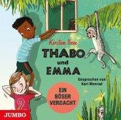 Thabo und Emma. Ein böser Verdacht, Audio-CD Cover