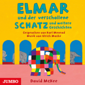 Elmar und der verschollene Schatz und weitere Geschichten, Audio-CD Cover