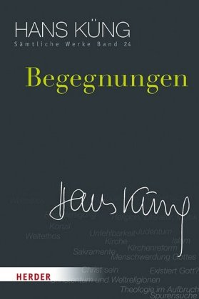 Hans Küng Sämtliche Werke