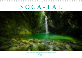 """S O C A - T A L""AT-Version (Wandkalender 2021 DIN A3 quer)"
