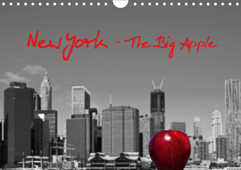 New York - The Big Apple (Wandkalender 2021 DIN A4 quer)