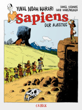 Sapiens - Der Aufstieg, Graphic Novel Cover