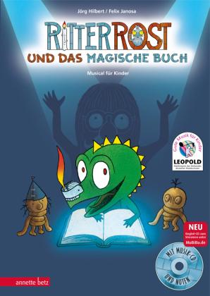 Ritter Rost und das magische Buch, m. Audio-CD