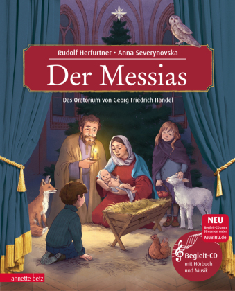Der Messias, m. Audio-CD