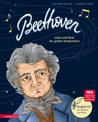 Beethoven, m. Audio-CD