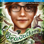Seawalkers - Wilde Wellen, 4 Audio-CD Cover
