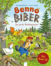 Benno Biber. Das große Waldabenteuer, m. Audio-CD Cover