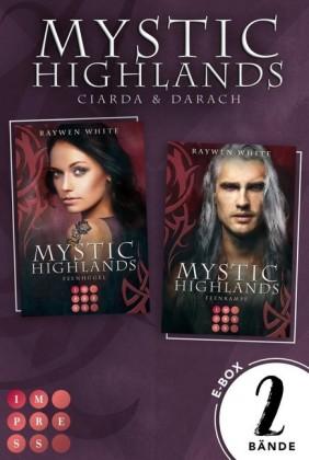 Mystic Highlands: Band 5-6 der Fantasy-Reihe im Sammelband (Die Geschichte von Ciarda & Darach)