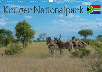 Krüger Nationalpark - Kalender 2021 (Wandkalender 2021 DIN A3 quer)