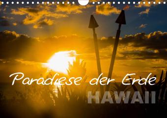 Paradiese der Erde - HAWAII (Wandkalender 2021 DIN A4 quer)