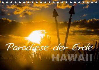 Paradiese der Erde - HAWAII (Tischkalender 2021 DIN A5 quer)