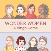 Wonder Women Bingo (Kinderspiele)