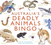 Australia's Deadly Animals Bingo (Kinderspiele)