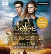 Code Genesis - Sie werden dich verraten., 1 Audio-CD, MP3
