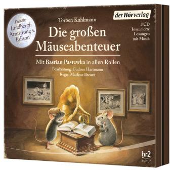 Die großen Mäuse-Abenteuer, 3 Audio-CD
